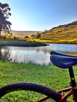 Cycling in Dullstroom